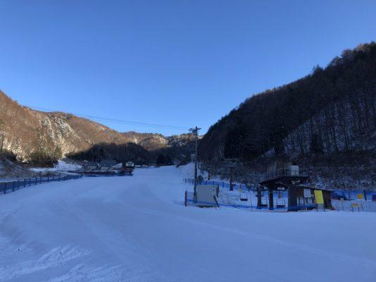 雪明けて朝一番!