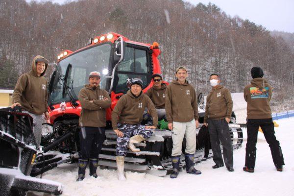 木曽福島スキー場夜部隊
