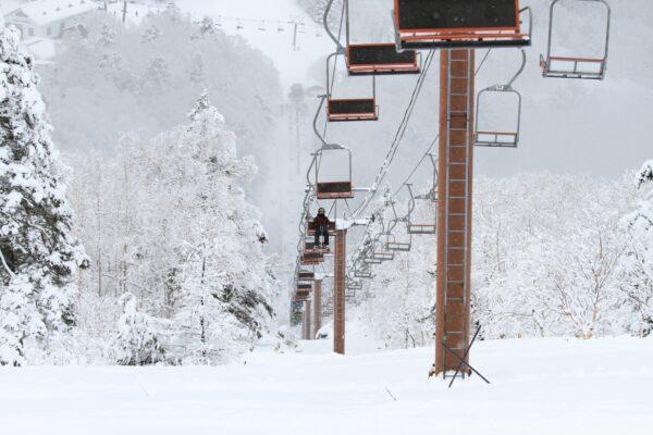 週末は晴予報!ゲレンデも新雪パウダー