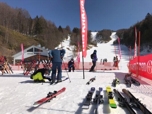 スキー試乗会おかわり!